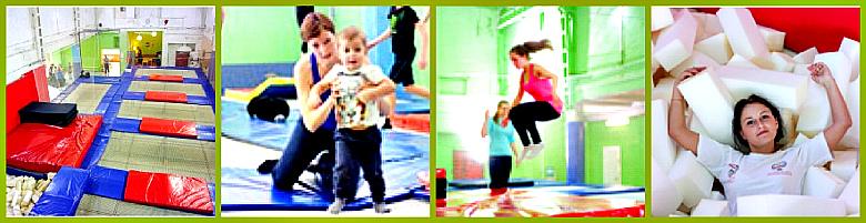 фитнес прыжки на батуте