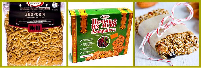 продукты содержащие амарант