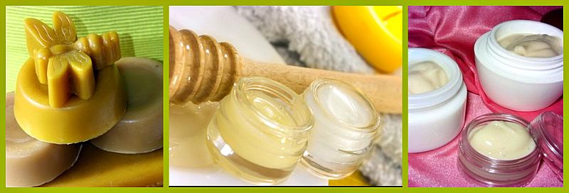 приготовить крем с пчелиным воском