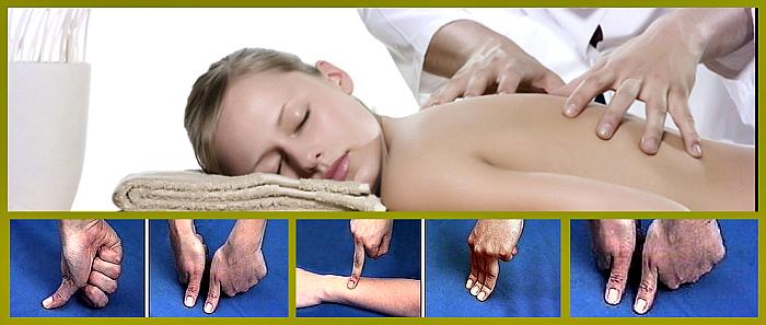 основные приемы точечного массажа
