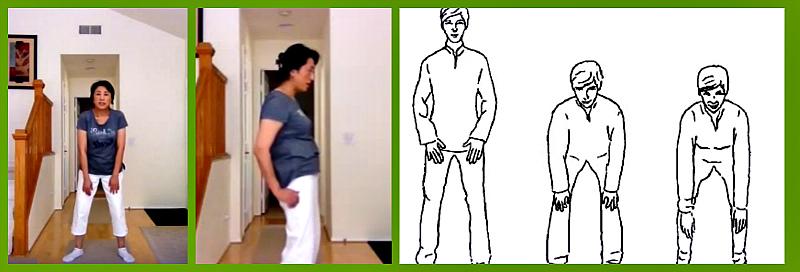 Упражнение ху-чун-гонг 1
