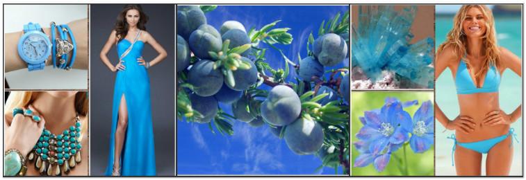 голубой цвет и здоровье