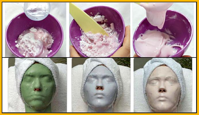 лечебные свойства альгинатных масок