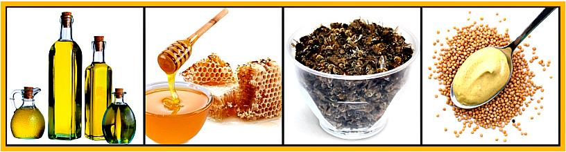 мед, прополис и подмор от боли в коленях