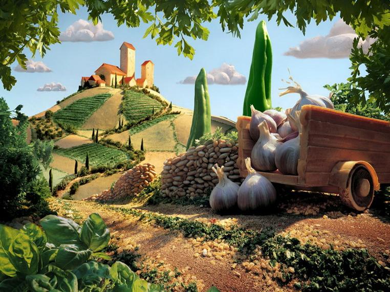 Тосканский ландшафт