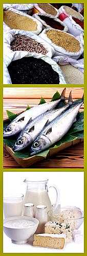 рыба и молочные продукты
