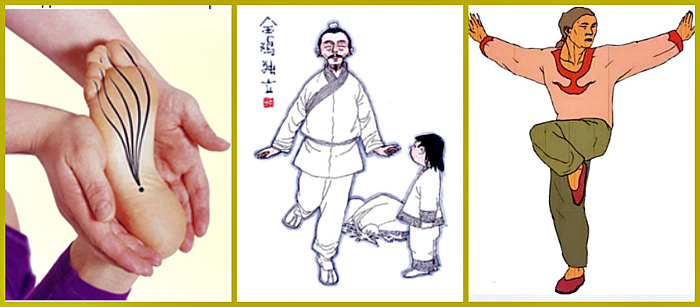 как выполнять упражнение петух
