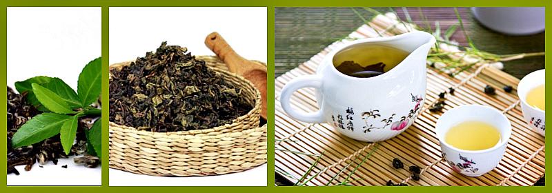 виды чая улун