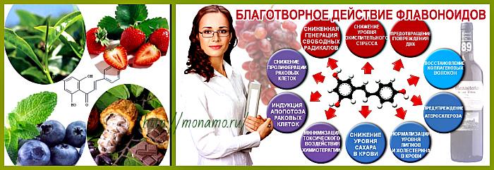 влияние флавоноидов на организм