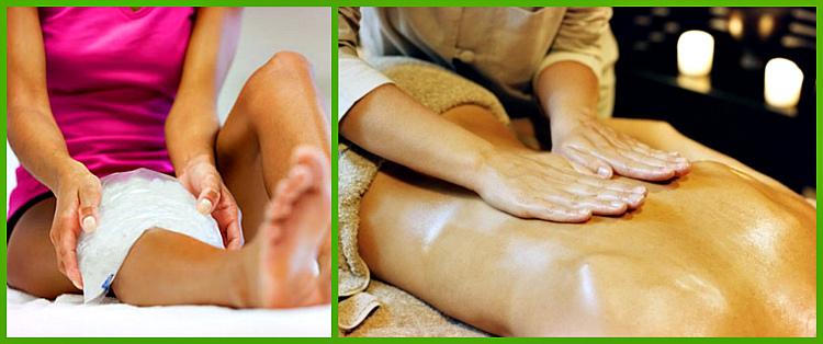 компрессы и массаж