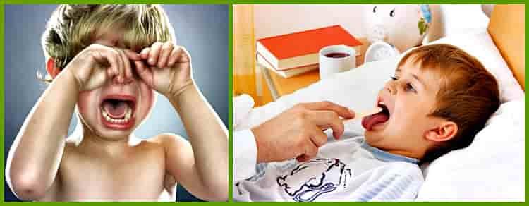 причины осиплости у детей