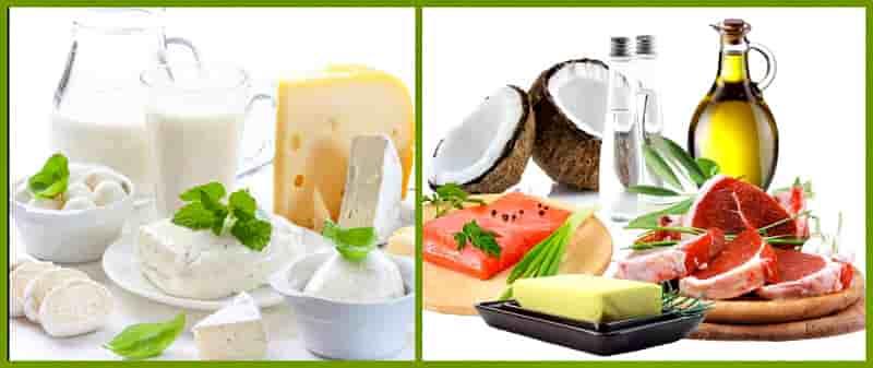 Продукты содержащие менее 3 г жира