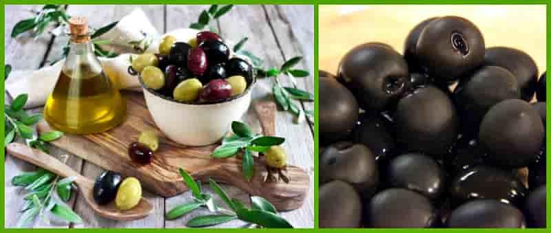 черненые маслины