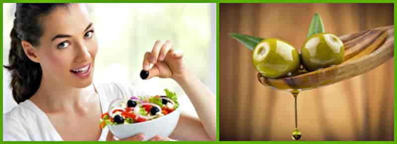 польза плодов оливы