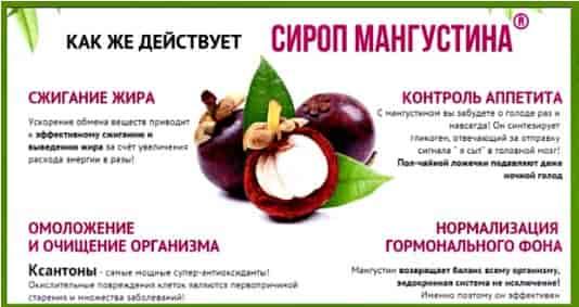 свойства сиропа