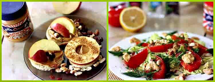 бутерброды и салат