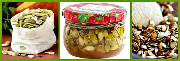 семена с медом