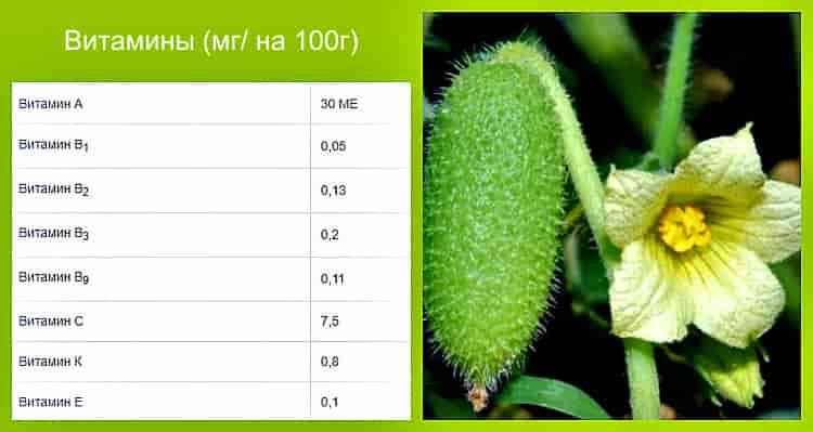 витамины в составе лианы