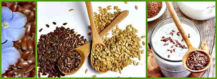 семена с кефиром