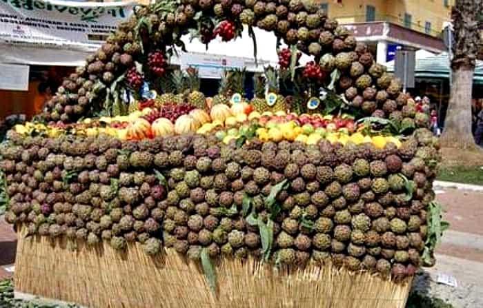 выставка овощей