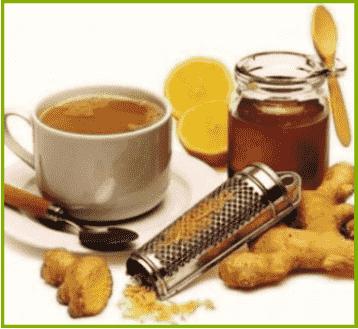Состав имбирь с лимоном и медом