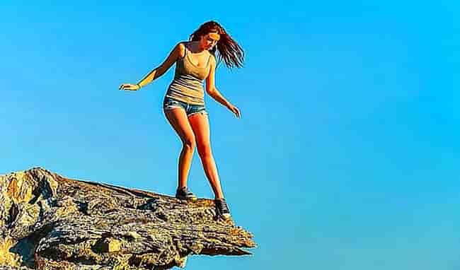 снижение страха высоты