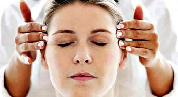 массаж от боли головы