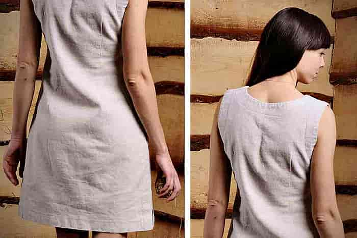 платье из канабиса
