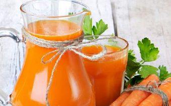 польза и вред морковного сока