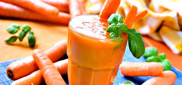 польза морковного сока для печени