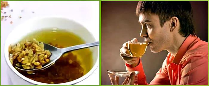чай из гречки