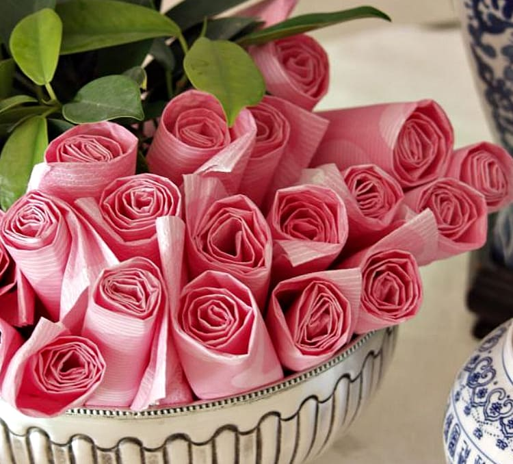 эффектные розы