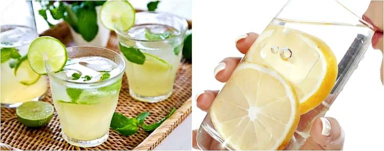 сок с лимоном
