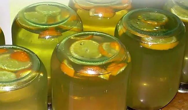 с апельсином и лимоном