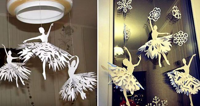 Как сделать снежинки из бумаги легко и красиво?