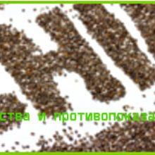 семена чиа полезные свойства и противопоказания